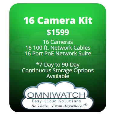 Easy Cloud C - 16 Camera Kit
